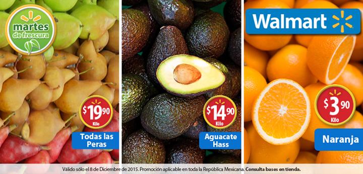 Martes de frescura en Walmart diciembre 8: aguacate $14.90 el kilo y más