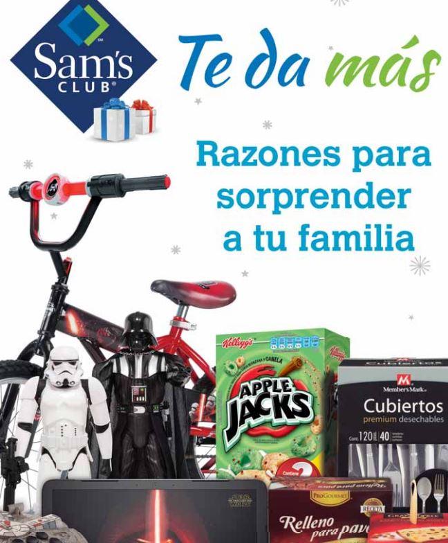 Sam's Club: Cuponera hasta el 24 de diciembre con ofertas en varios departamentos y artículos de Star wars