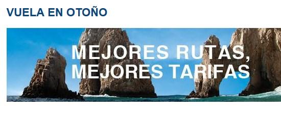 Aeroméxico: venta especial de otoño