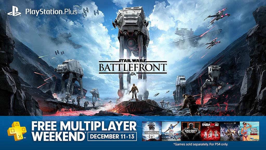 Multijugador Abierto en PS4 Este fin de semana (11-13)