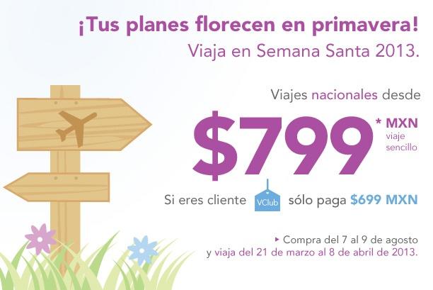 Volaris: vuelos nacionales desde $699 y a USA desde $119 dólares en mayo
