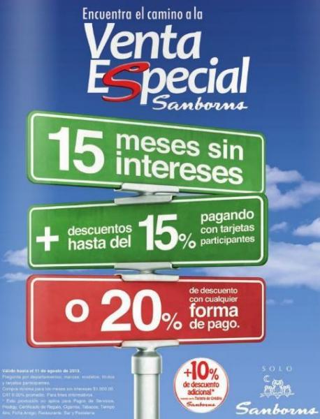 Sanborns: 2x1 en fotografías y venta especial