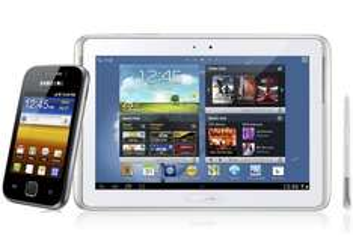 "Walmart online: Samsung Galaxy Note 10.1"" + Samsung Galaxy Y $6,990"