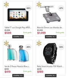 Linio: Top 10 Regalos. Tablets, Perfumes y mas.