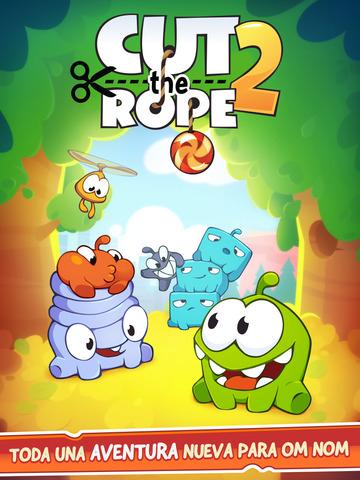 App Store: Cut the Rope 2 también se ha vuelto gratuito