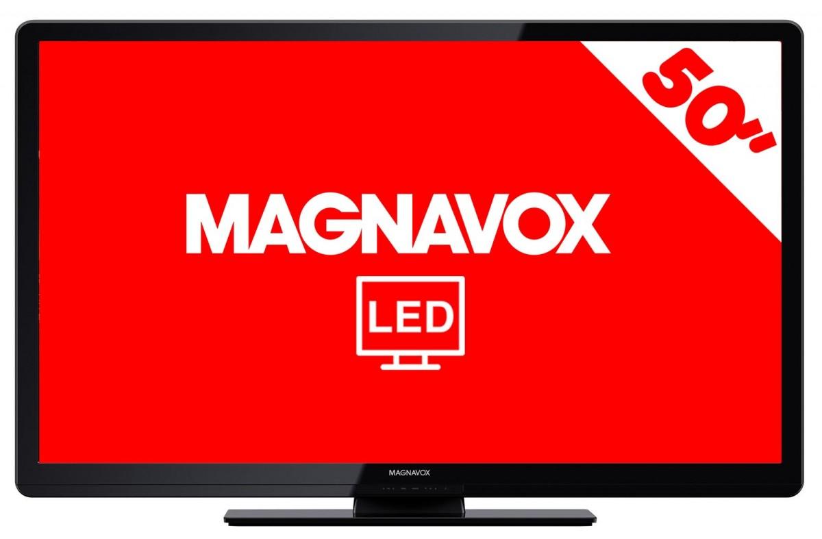 """HEB en línea: Televisión LED Magnavox 50mf412b 50"""" $4999"""