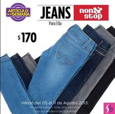 Artículo de la semana en Suburbia: jeans de mujer $170