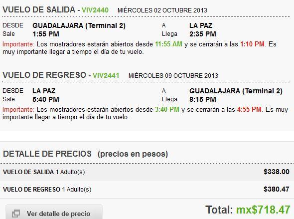 Vivaaerobus: todos los destinos nacionales desde $338 (DF-Cancún $676 redondo)