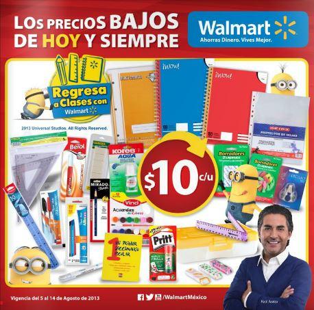 Folleto Walmart del 5 al 14 de agosto