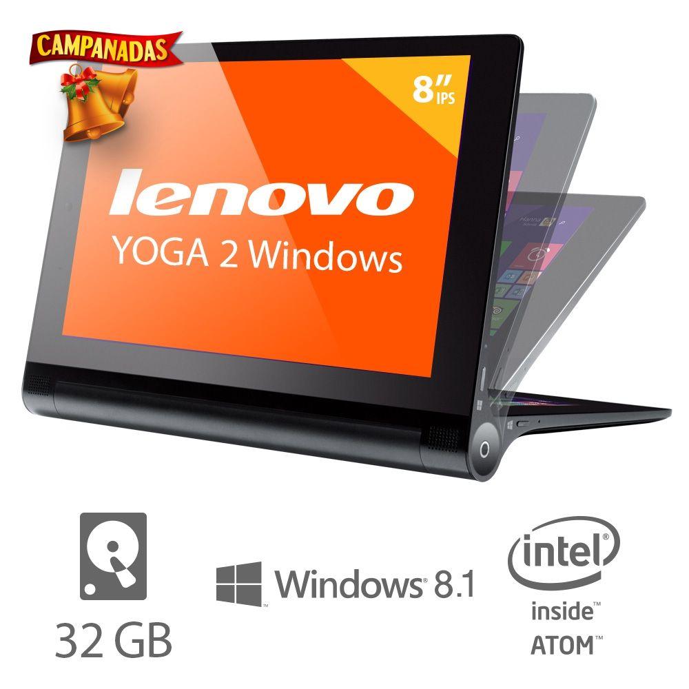 """Walmart: Lenovo Yoga Tab 2 Windows 8.1 (8"""") $3548.74 Con envio"""