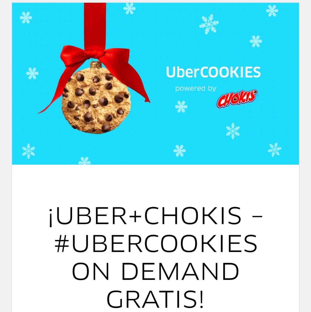 Hoy Uber Chokis gratis! Monterrey