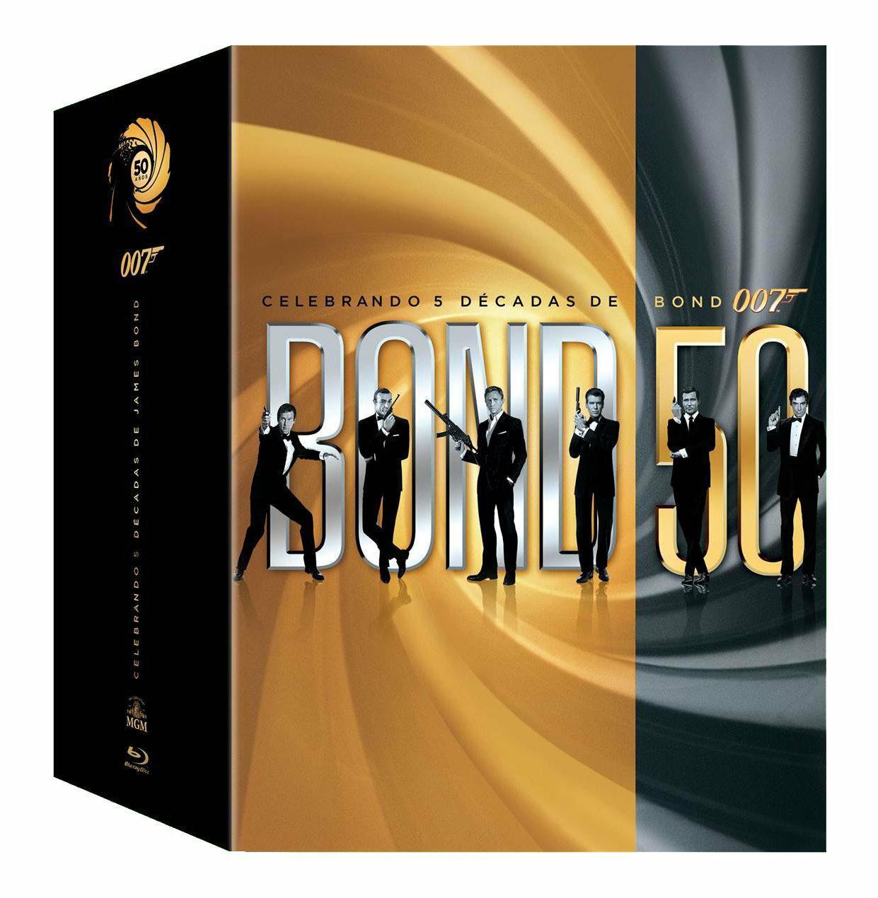 Amazon Mx: colección 50 años James Bond (23 películas)