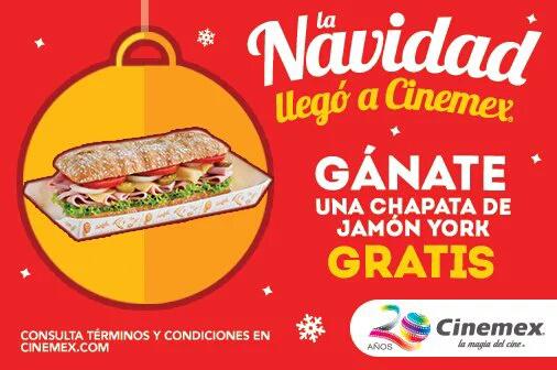 Regalo cinemex viernes 11: chapata