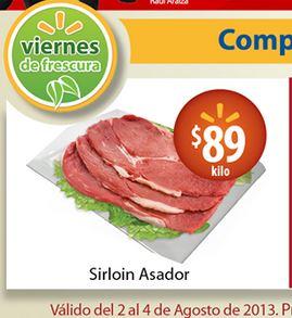 Ofertas de carnes y frutas en Walmart y Chedraui agosto 2 a 4