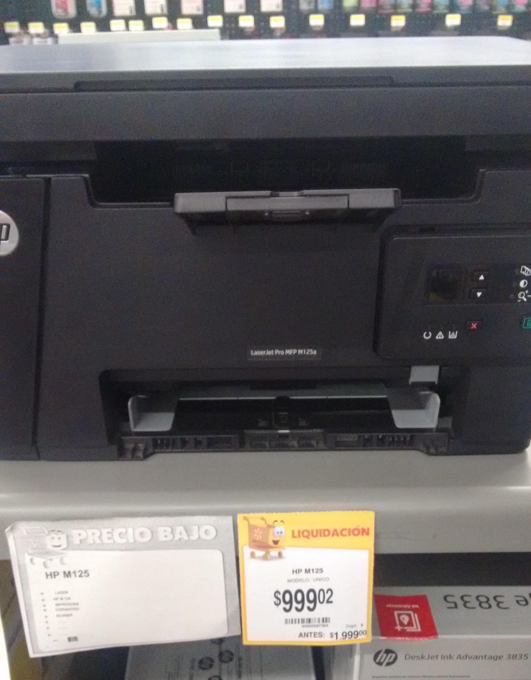 Walmart Multifuncional Laser HP $999.02