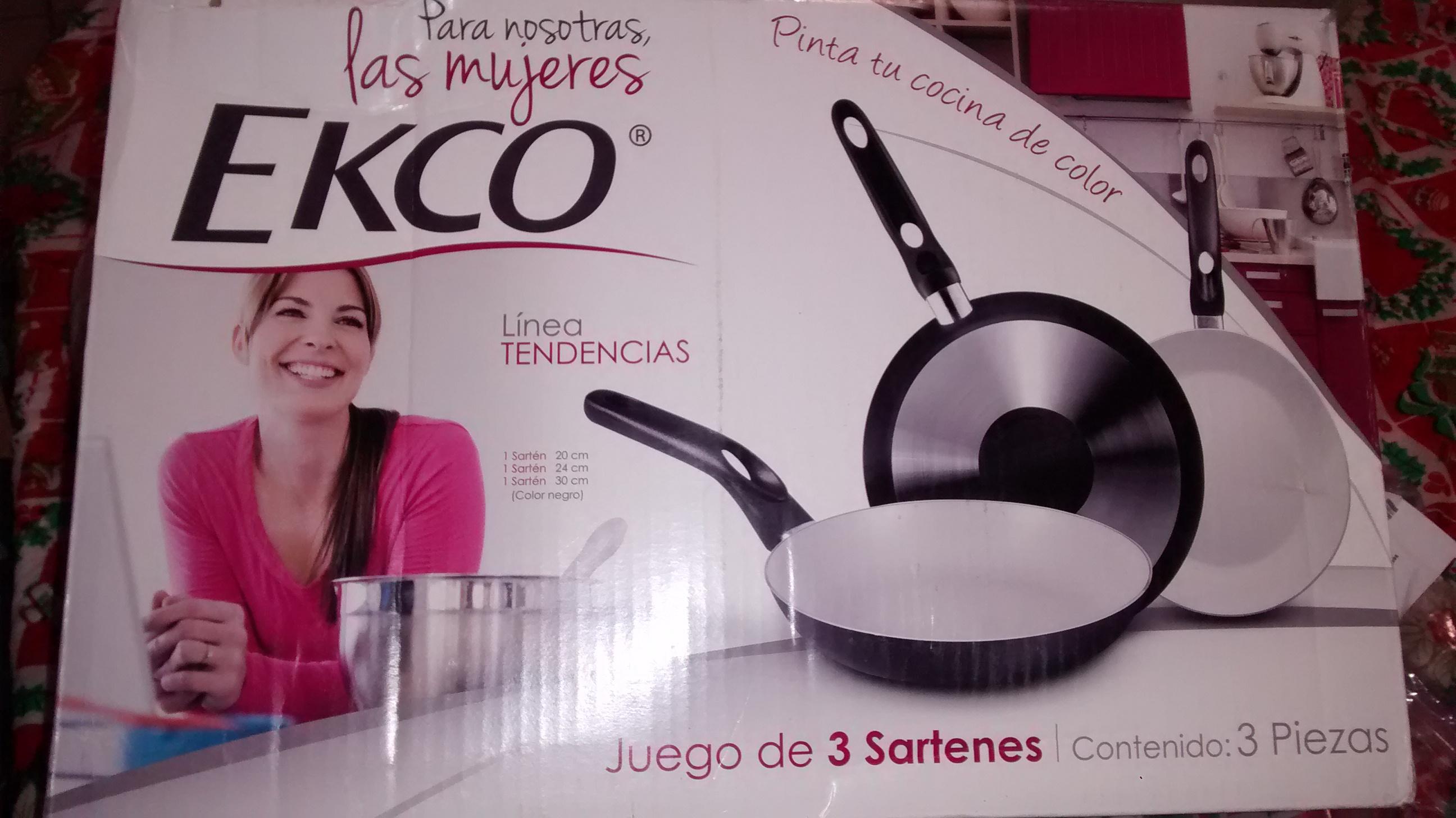Walmart Torreón: Juego de Sartenes Ecko $35.01