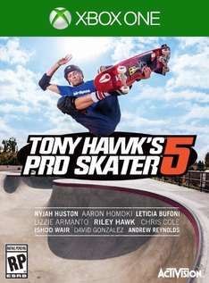 AMAZON: Tony Hawk Pro Skater 5 para XBox One