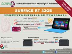 Fundación Politécnico DF: Surface RT 32GB