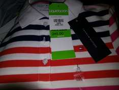 Liverpool Playera niña polo Tommy Hilfiger $242