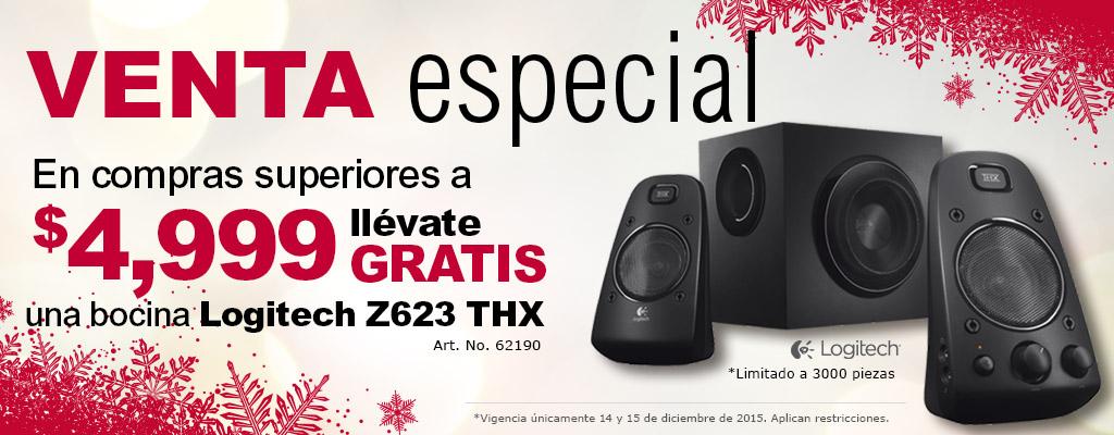 Venta Especial Office Depot 14 y 15 de diciembre: bocinas Z623 gratis con compra mínima