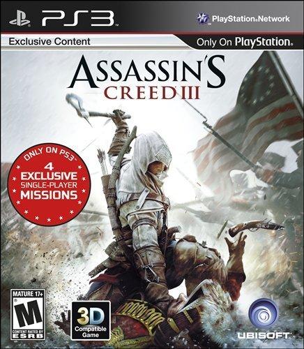 Amazon: Juego Assasin's Creed III para ps3 $114