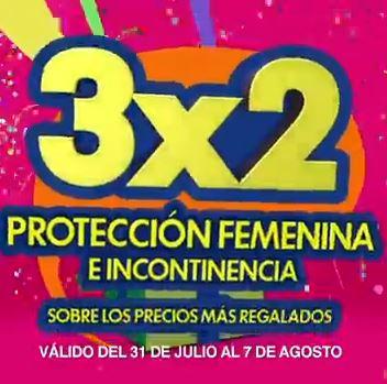 Julio Regalado en La Comer: 3x2 en protección femenina e incontinencia