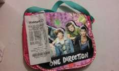 Walmart , Bolsa One Direction $20.01