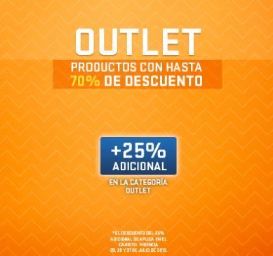 Netshoes: hasta 70% de descuento + 25% adicional en outlet
