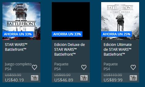 Venta por fiestas Semana #2 Playstation Store