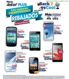Back to School Telcel: Galaxy Note 2 gratis en plan de $499, Galaxy S3 $789 en plan de $399 y +