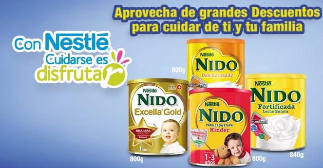 Farmacias del Ahorro: 3x2 en leche Nido, desodorantes Dove, 25% en Pepto Bismol y +