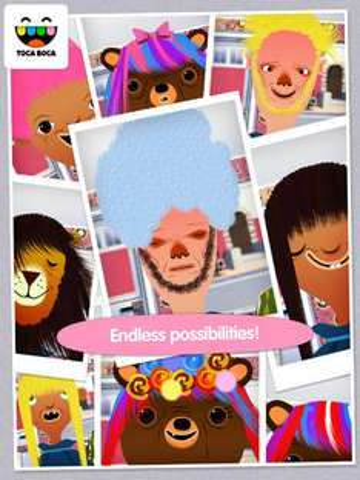 Juego Infantil TOCA HAIR SALOON para iOS GRATIS por 24 horas en Apple Appstore.