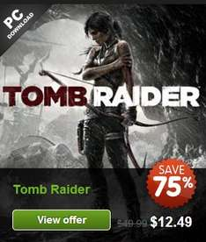 Juegos PC: Hitman: Absolution US$6, Tomb Raider $12, Deus Ex $2 y mucho más