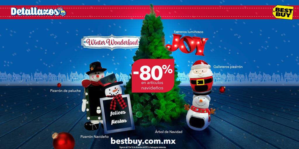 BestBuy: hasta 80% de descuento en artículos de Navidad