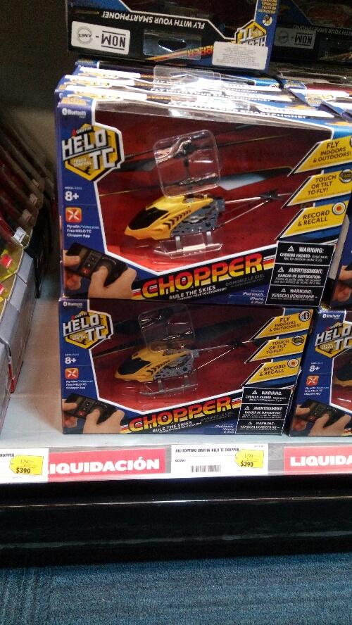 Best Buy: Helicóptero de control remoto $390