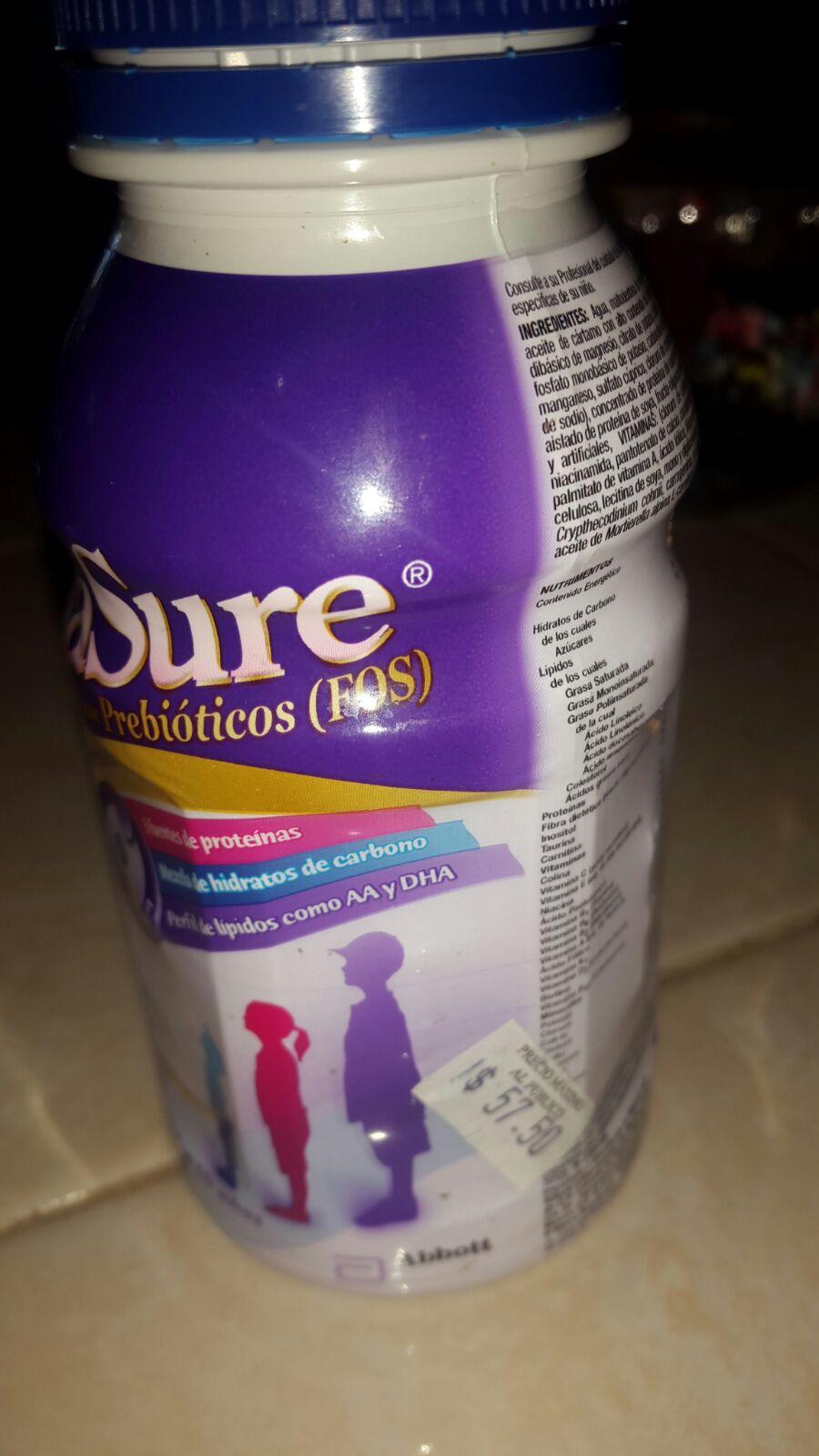 Farmacia del ahorro, 3 Pediasure por $92, glucerna y ensure tambien aplica