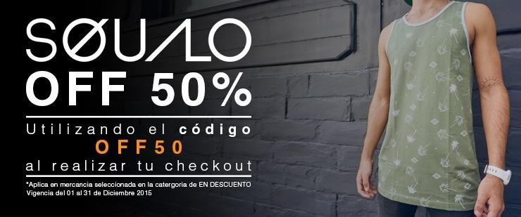 Tienda Squalo: Ropa seleccionada con 50%