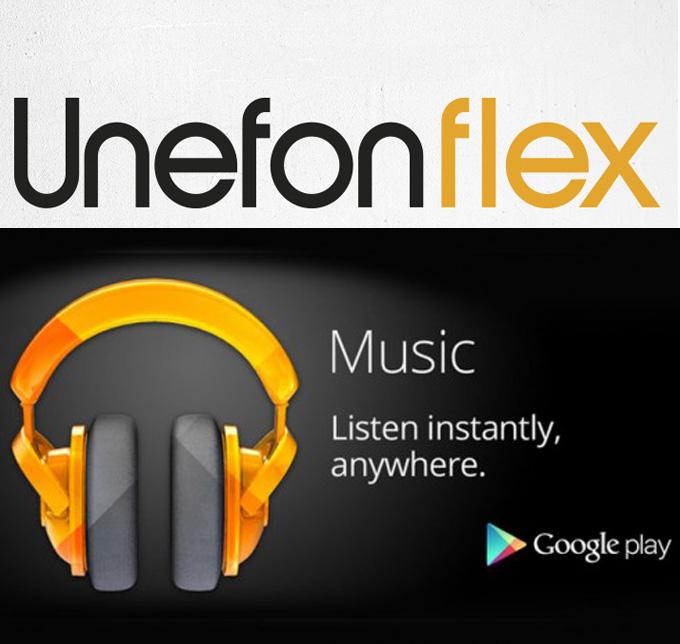 Google Play Music All Access, prueba 3 meses sin tarjeta de crédito con Unefon Flex