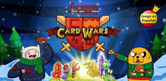 Google Play: Juego Card Wars de Hora de Aventura a $17