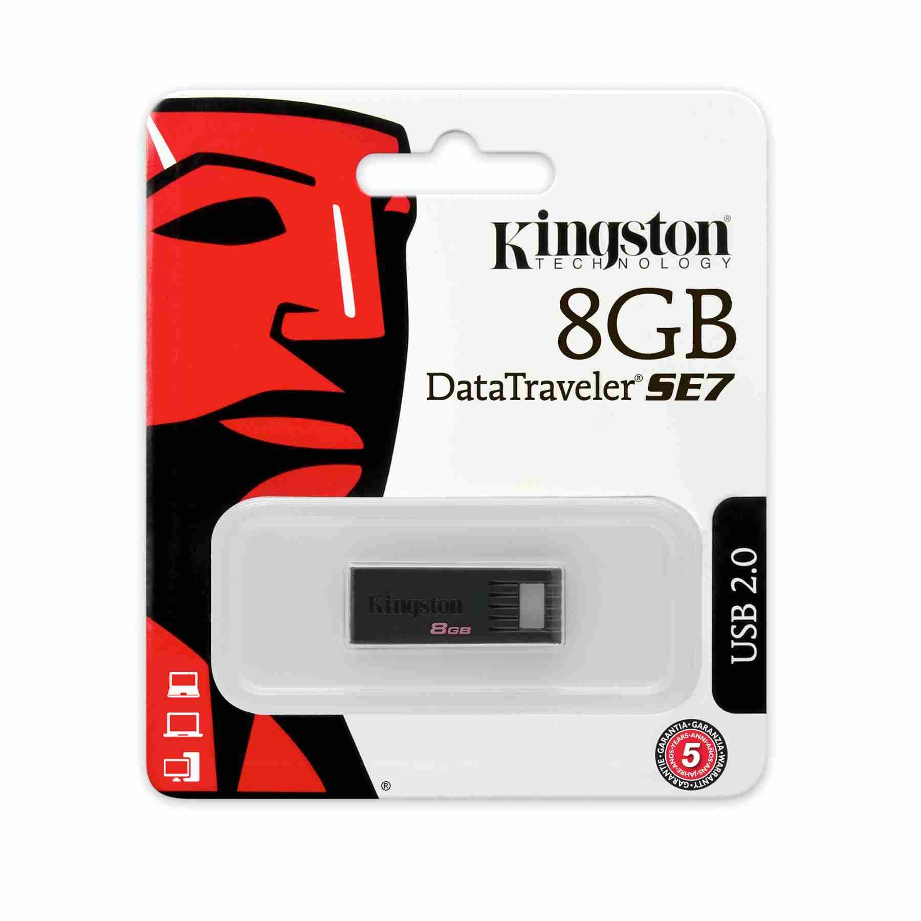 BSTORE MEMORIA KINGSTON 8GB DTSE7