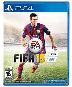 Amazon México: FIFA 15 para PS4 en $257