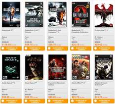 Juegos PC desde $30: Dead Space 2, Battlefield 2, SimCity 4, Medal of Honor y más