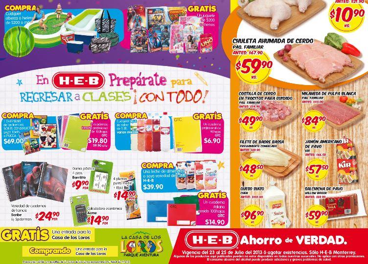HEB: gratis juguete al comprar alberca o hielera, sandía $2.95 y más