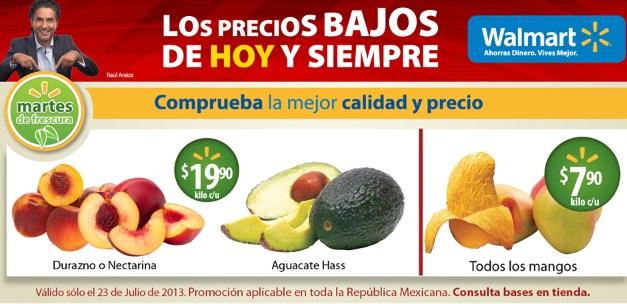 Martes de frescura Walmart julio 23: todos los mangos $7.90 y más