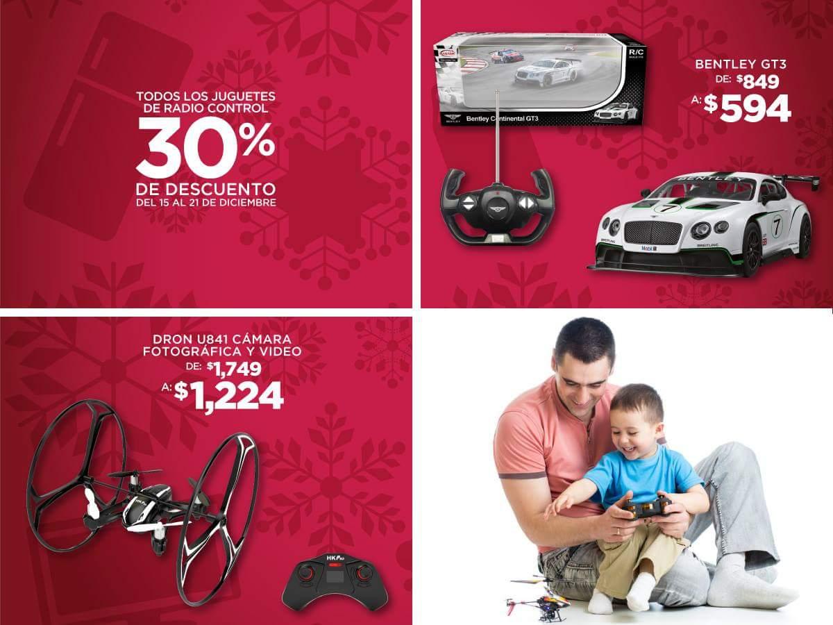 Elektra: 30% de descuento en drones y juguetes de radio control