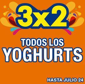 Julio Regalado en La Comer: 3x2 en todos los yoghurts