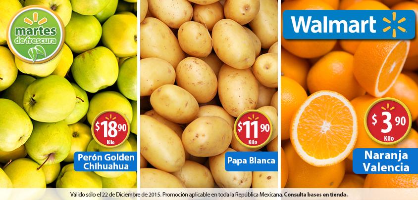 Martes de frescura en Walmart diciembre 22: Naranja Valencia a $3.90 el kilo y más