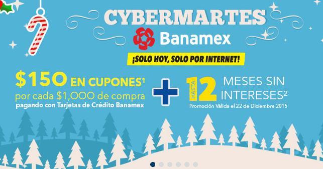 Best Buy Online: Cybermartes $150 en cupones por cada $1000 + 12 MSI + Envío gratis con Banamex