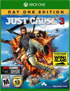 Amazon: Just Cause 3 - Day One Edition - Xbox One y PS4