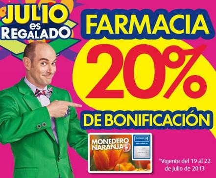 Julio Regalado en La Comer: 20% de bonificación en farmacia